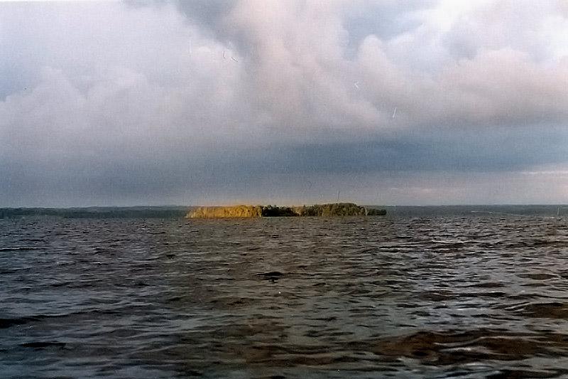 Острова, освещенные солнцев